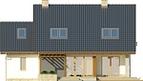 Projekt domu Laguna 2 - elewacja tylna