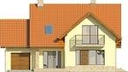 Projekt domu Laguna 3 - elewacja przednia