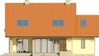 Projekt domu Laguna 3 - elewacja tylna