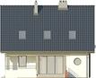 Projekt domu Klasyka 4 - elewacja tylna