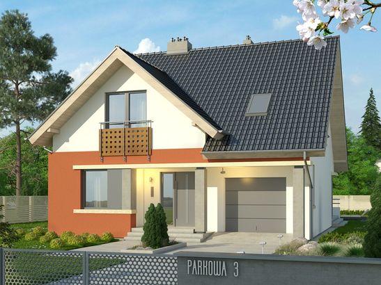 Projekt domu Klasyka 4 - widok 1
