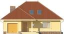 Projekt domu Verona 2 - elewacja przednia