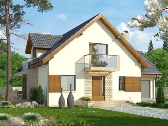 Projekt domu Rozalin 2 - widok 2