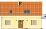 Projekt domu Cekin - elewacja przednia