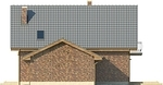 Projekt domu Adorator - elewacja boczna 2
