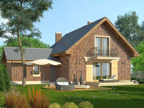 Projekt domu Adorator - widok 1