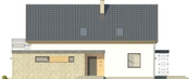 Projekt domu Master - elewacja boczna 1