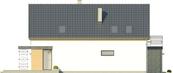 Projekt domu Master - elewacja boczna 2