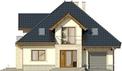 Projekt domu Ikebana 3 - elewacja przednia