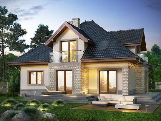 Projekt domu Ikebana 3 - widok 3