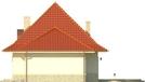 Projekt domu Amaretto 2 - elewacja boczna 2
