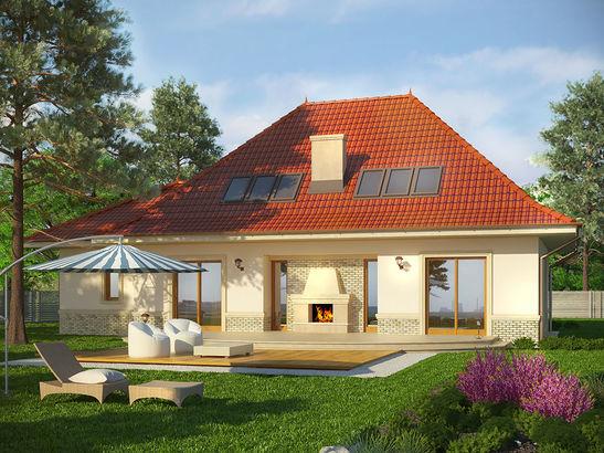 Projekt domu Amaretto 2 - widok 2