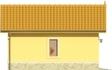 Projekt domu Garaż 13 - elewacja boczna 1