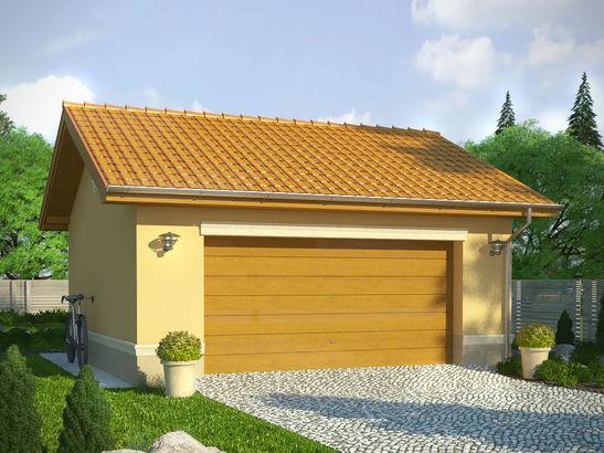 Projekt domu Garaż 19 - widok 1