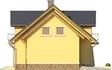 Projekt domu Szmaragd 3 - elewacja boczna 2