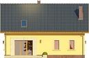 Projekt domu Opuncja - elewacja tylna