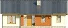 Projekt domu Awans - elewacja przednia