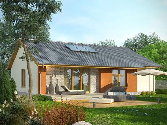 Projekt domu Awans - widok 2