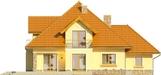 Projekt domu Meritum 2 - elewacja tylna