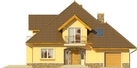 Projekt domu Meritum 3 - elewacja przednia