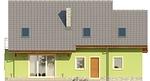 Projekt domu Marzenie - elewacja tylna