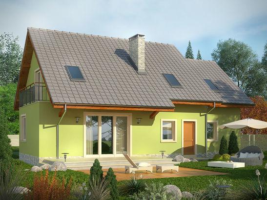 Projekt domu Marzenie - widok 2