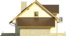 Projekt domu Wicher - elewacja boczna 2