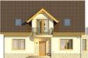 Projekt domu Wicher 2 - elewacja przednia