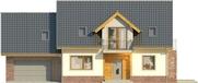 Projekt domu Komfort 2g - elewacja przednia
