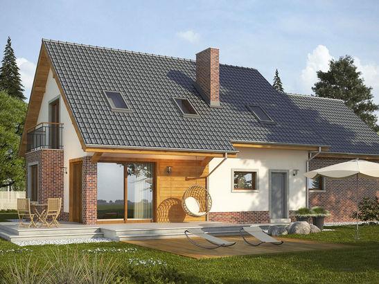 Projekt domu Komfort 2g - widok 2