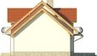 Projekt domu Czereśnia - elewacja boczna 2