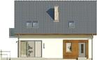Projekt domu Tabasco - elewacja tylna