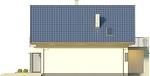 Projekt domu Panorama - elewacja boczna 2