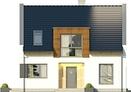 Projekt domu Aviator  - elewacja przednia