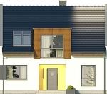 Projekt domu Aviator 5 - elewacja przednia