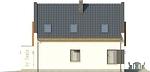 Projekt domu Pionier - elewacja boczna 1