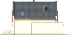 Projekt domu Pionier - elewacja boczna 2