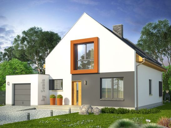Projekt domu Pionier - widok 1