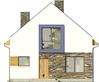 Projekt domu Pionier 2 - elewacja przednia