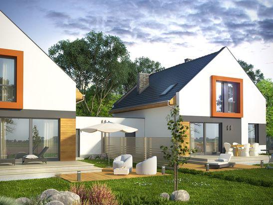 Projekt domu Pionier 3 - widok 1