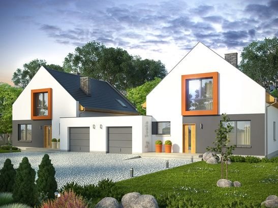 Projekt domu Pionier 3 - widok 2