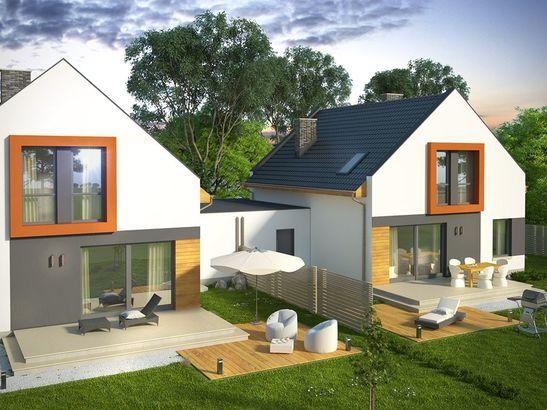 Projekt domu Pionier 3 - widok 3