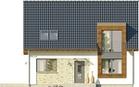 Projekt domu Tabasco 3 - elewacja przednia
