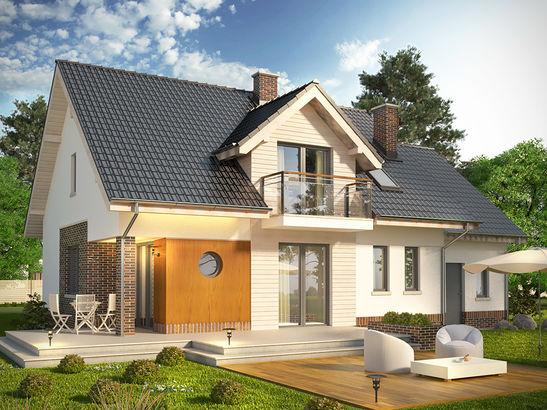 Projekt domu Pryzmat 2 - widok 2