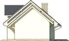 Projekt domu Marzenie 2 - elewacja boczna 2