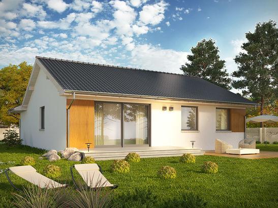 Projekt domu Juka - widok 2