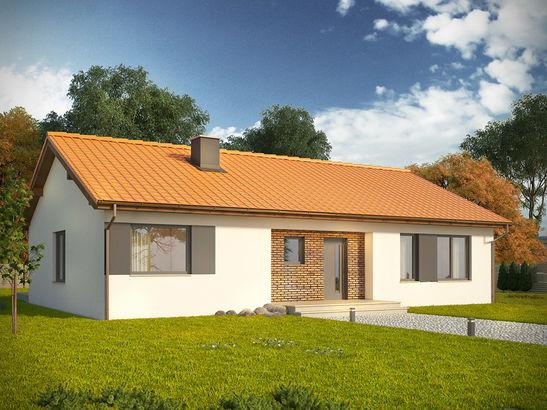 Projekt domu Danta 2 - widok 2