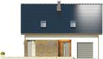 Projekt domu Asana - elewacja przednia
