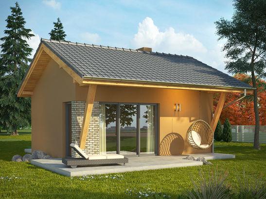 Projekt domu Domek 2 - widok 1