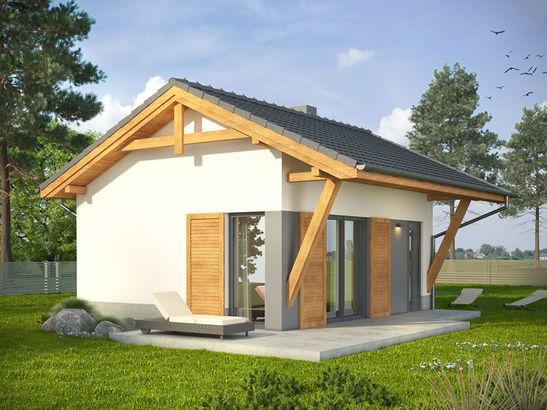 Projekt domu Domek 5 - widok 1
